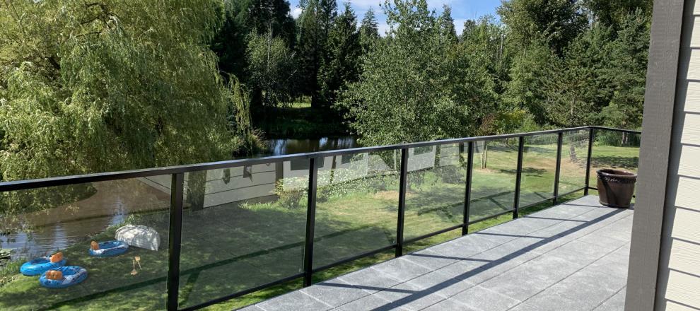 Glass Patio Railings, Okanagan Stainless Steel Railings